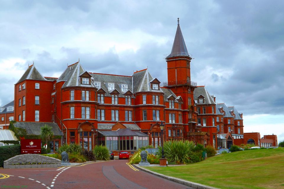 Slieve Donard Hotel in Newcastle (County Down) - even where the Mountains of Mourne run down to the sea, the occasional bargain can be found.
