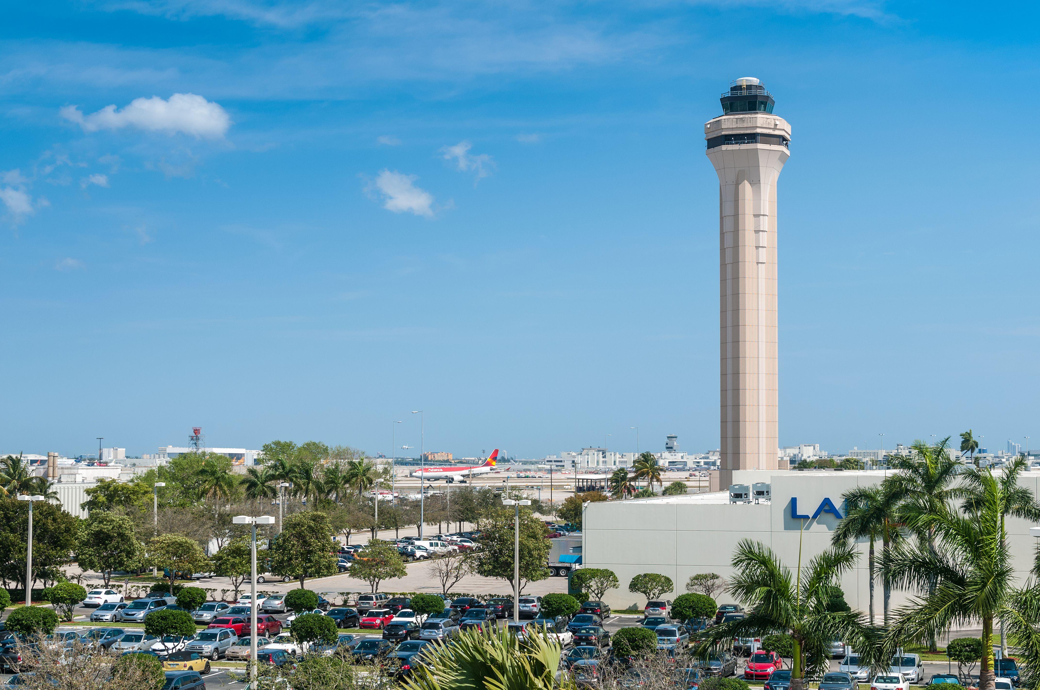 Miami International Airport Outside