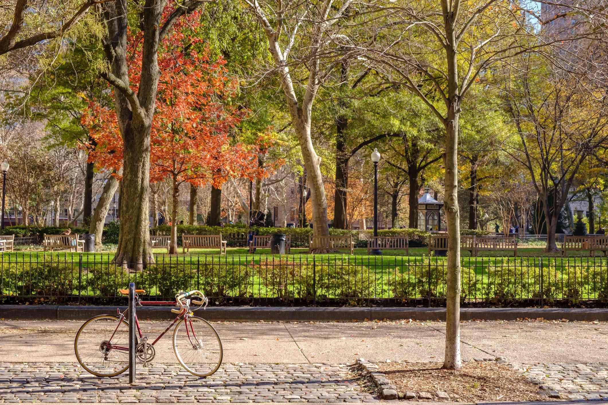 Rittenhouse Square in Philadelphia