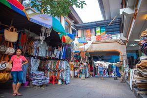 A market in Ubud