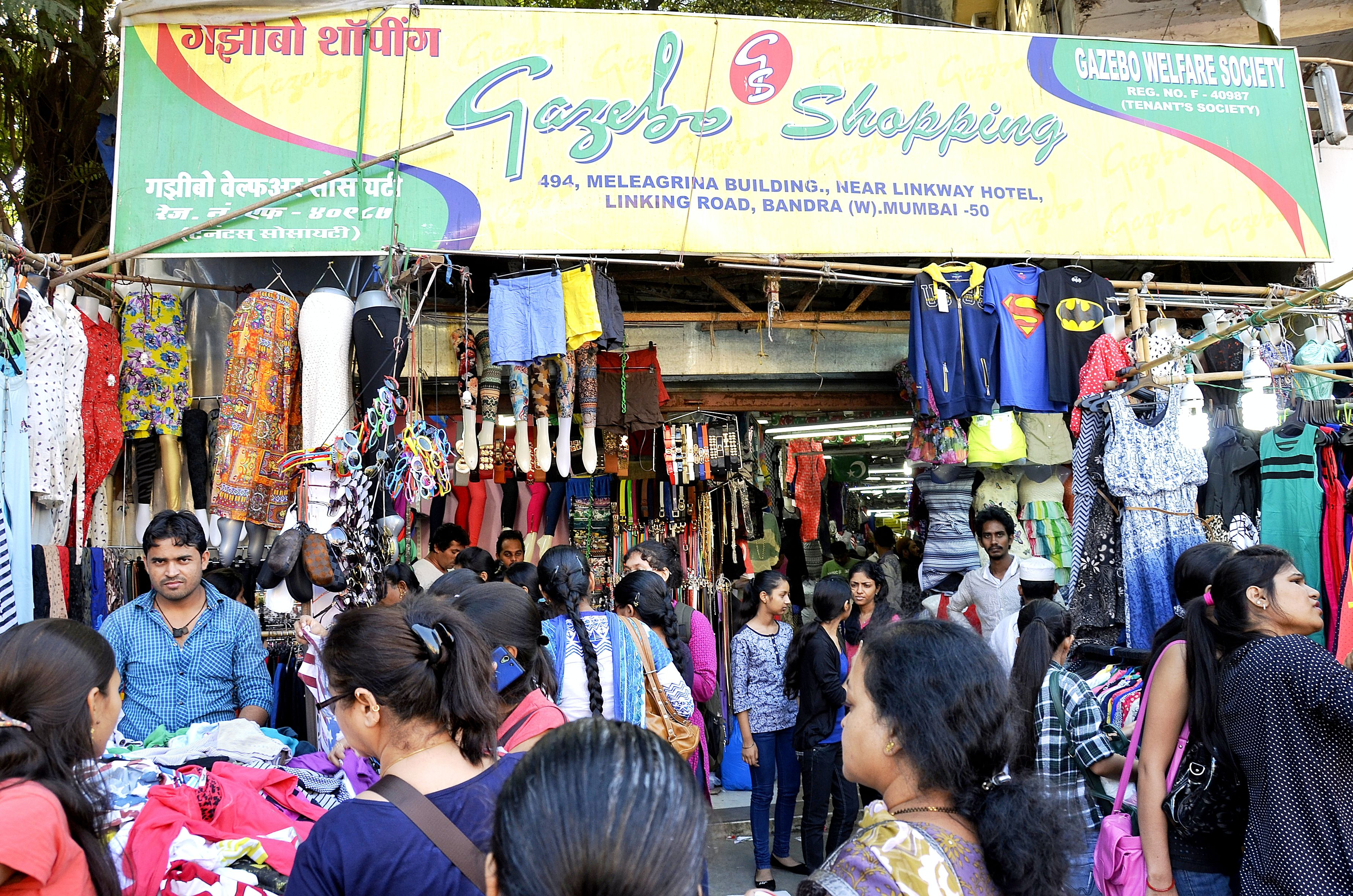 Image result for Linking Road - Mumbai