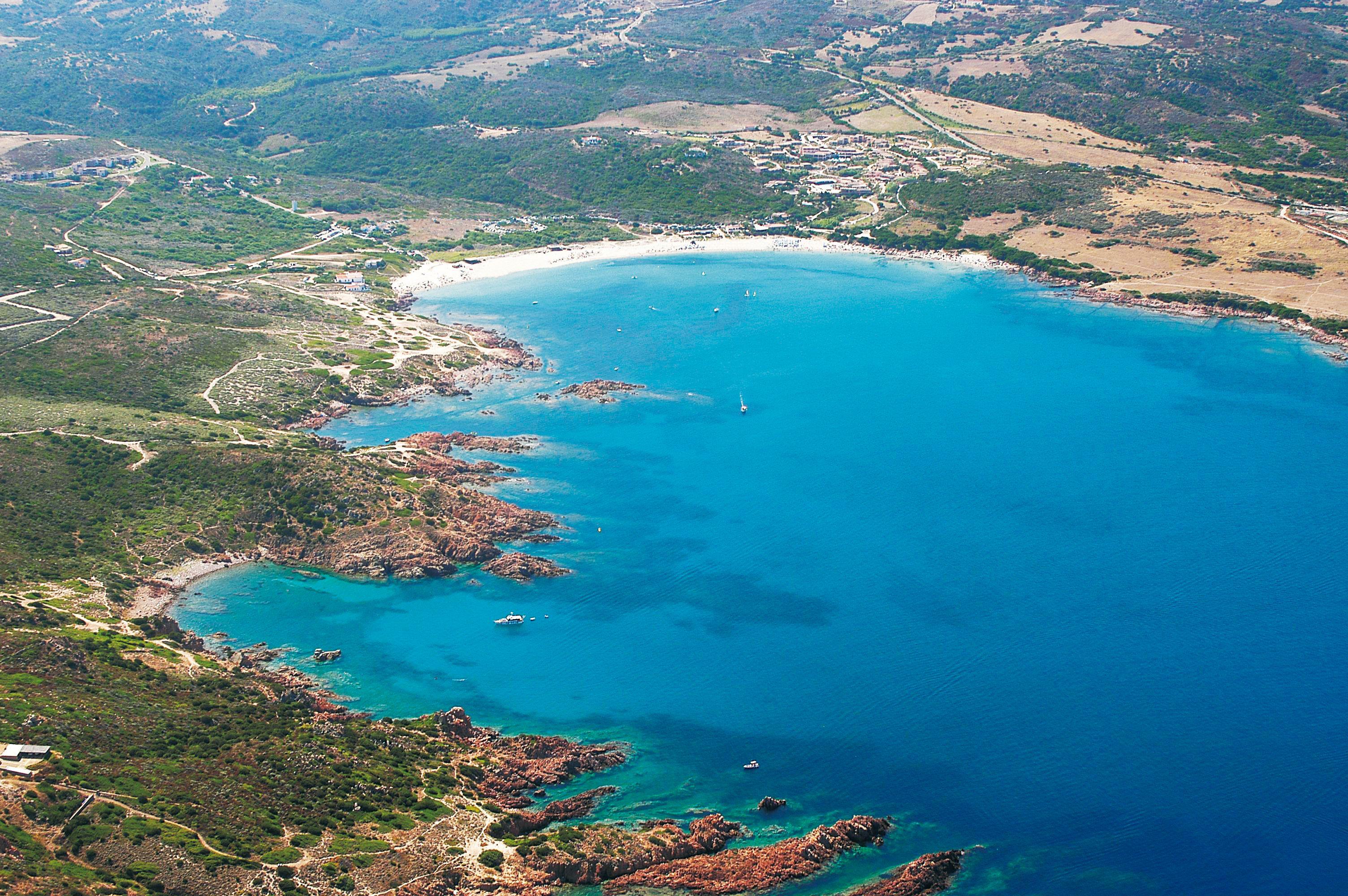 Isola Rossa on the Island of Sardinia