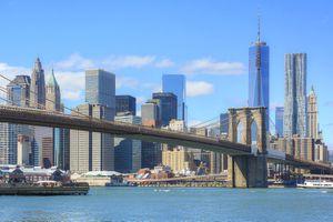 Lower Manhattan & Brooklyn Bridge