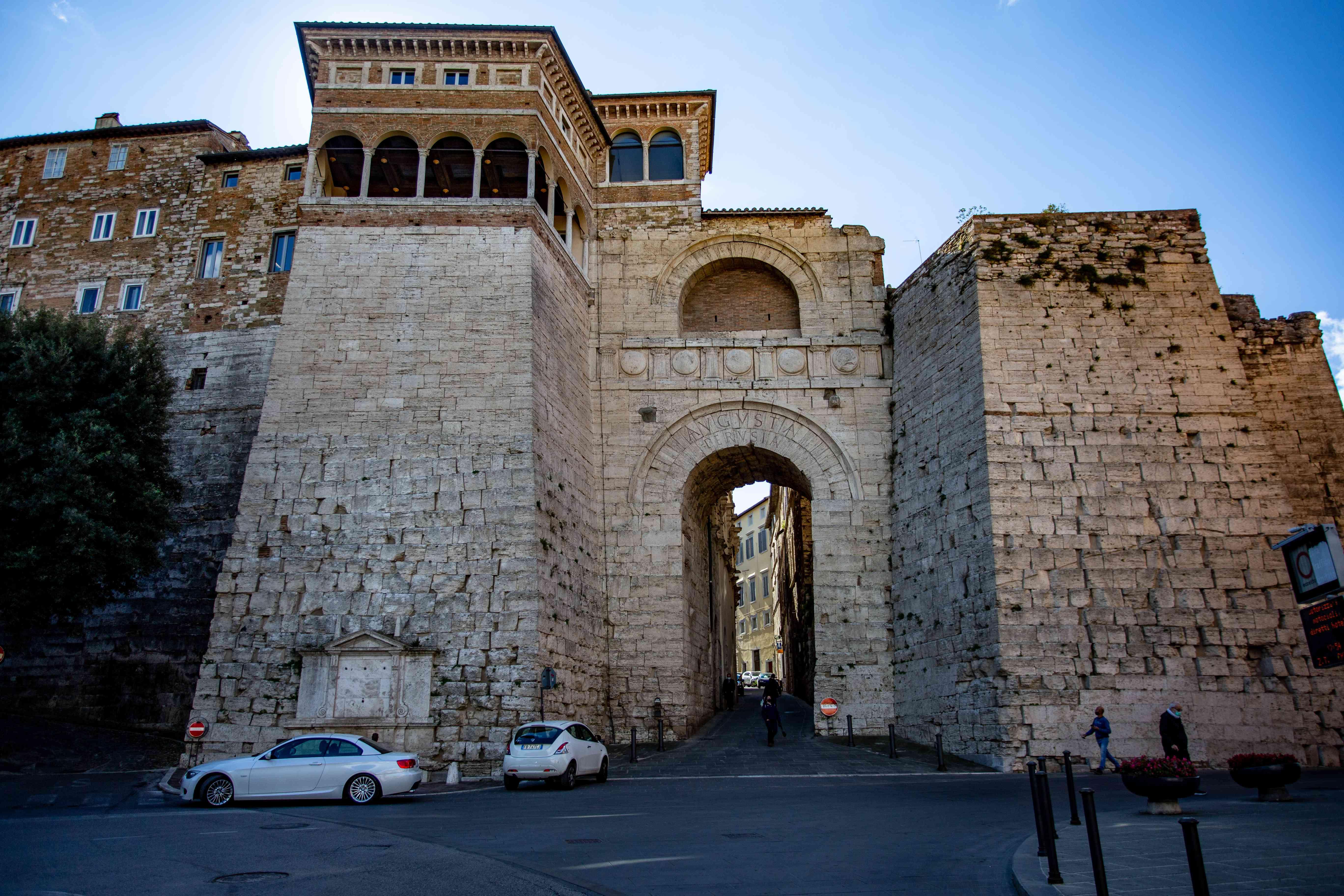 Arch of Augustus, Perugia, Umbria