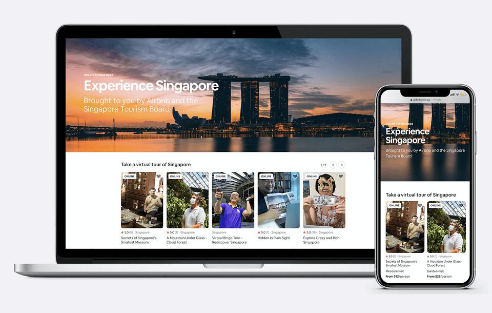Singapore Virtual Experiences
