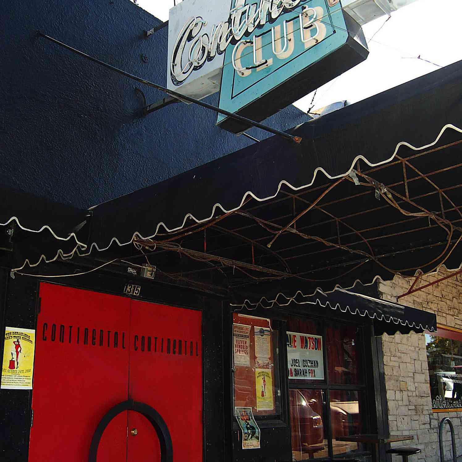The Continental Club en South Congress Avenue
