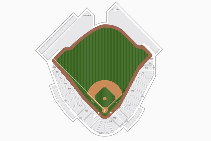 Sloan Park (Cubs Park) Seating Chart - Spring Training