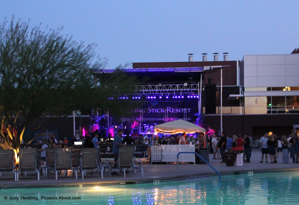 Concert at The Pool at Talking Stick Resort