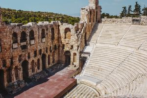 An ancient arena in Athens