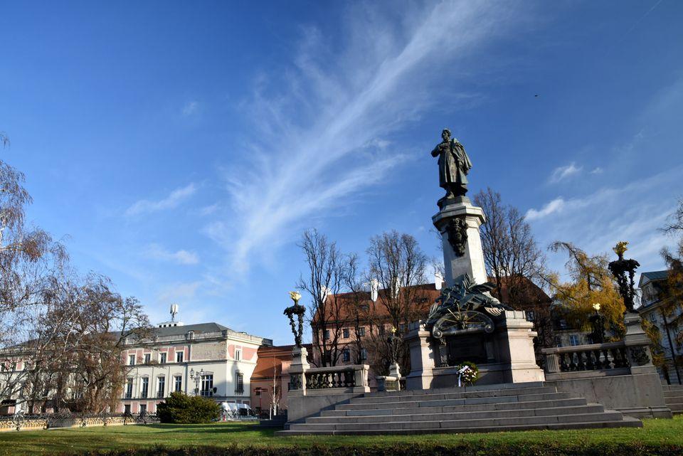 Warsaw in Fall