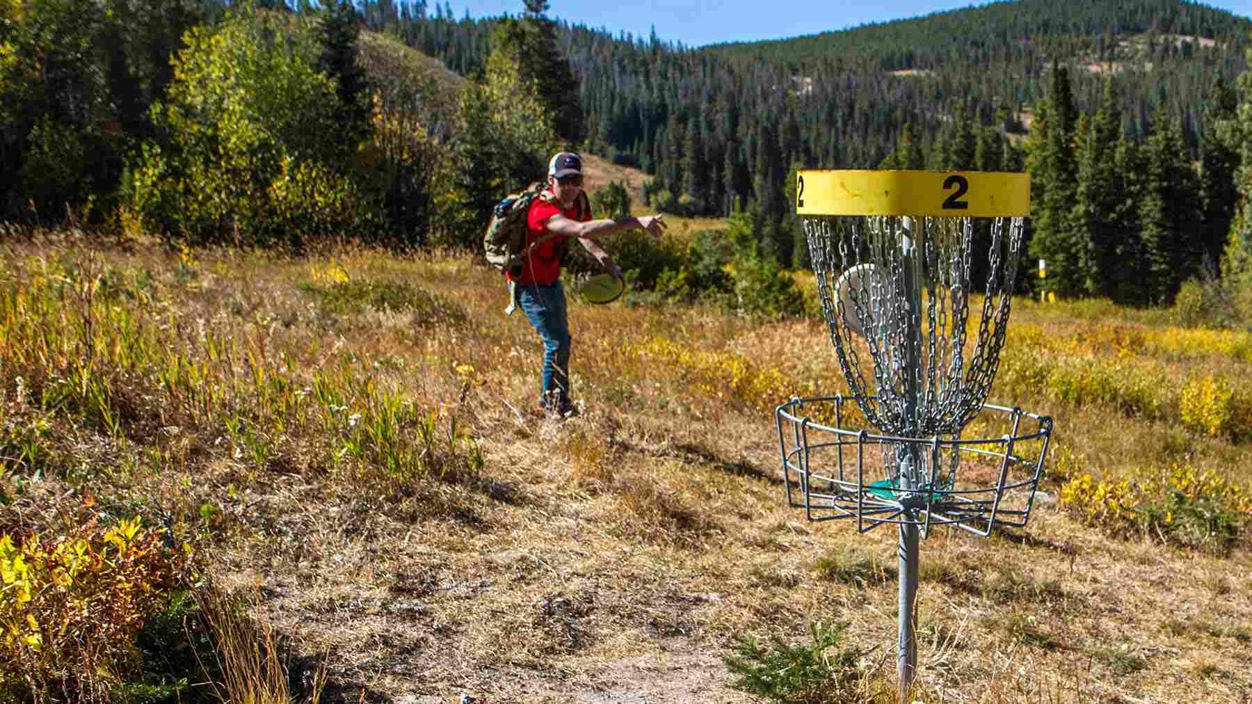Disc golf at Winter Park Resort