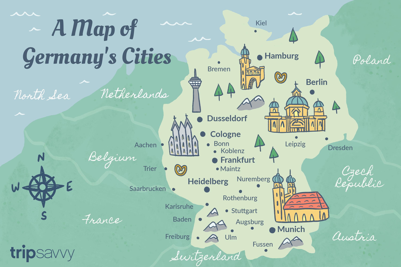Ciudades alemanas
