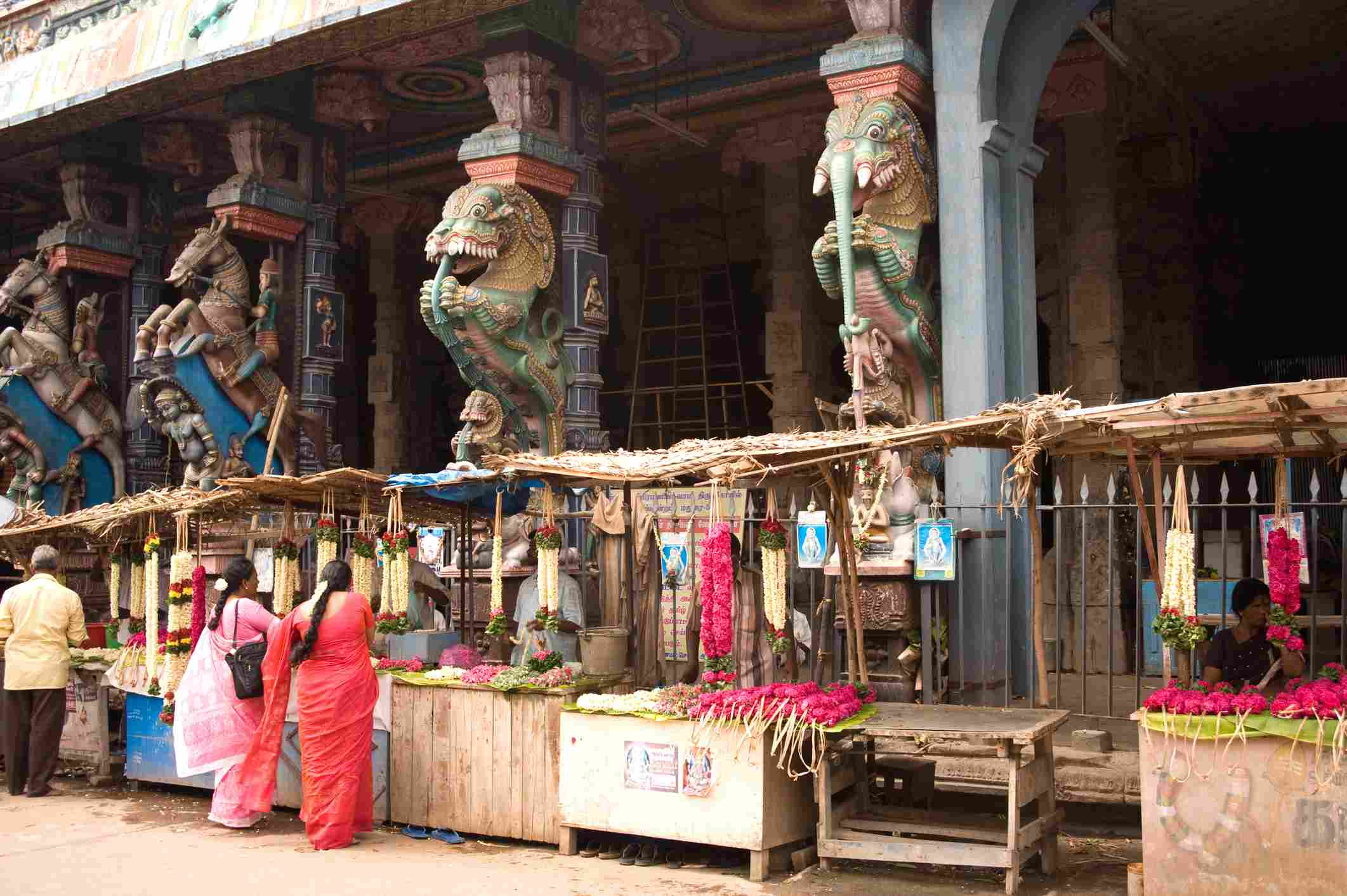 Thiruparankundram temple of kartikeya or murugan, Madurai, Tamil Nadu