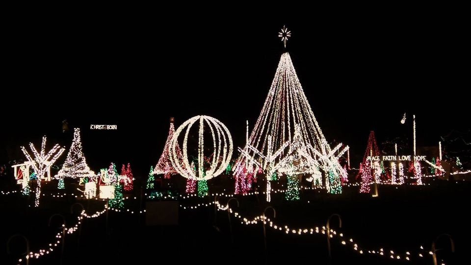 Christmas Light Displays in Raleigh-Durham