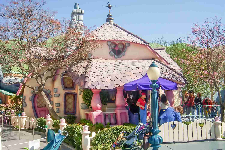 Minnie's House at Disneyland