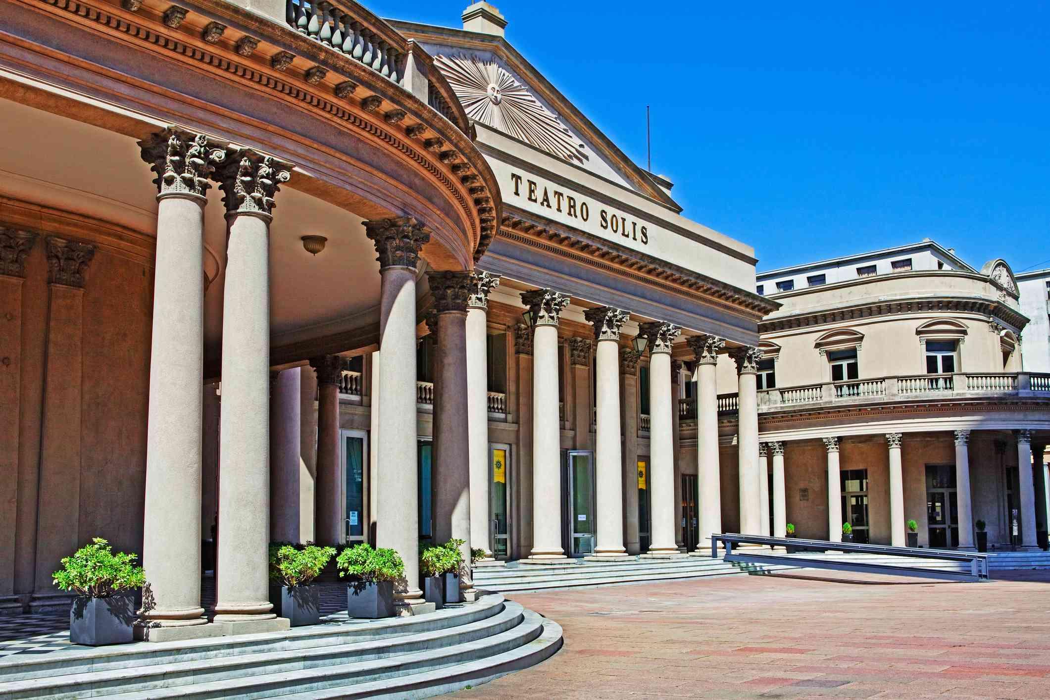 Teatro Solís, Montevideo, Uruguay