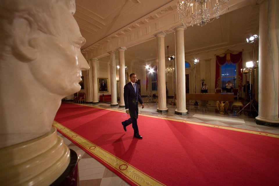 Entrance Hall White House