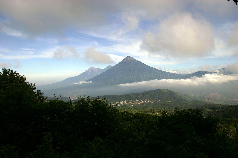 Volcanoes in Honduras