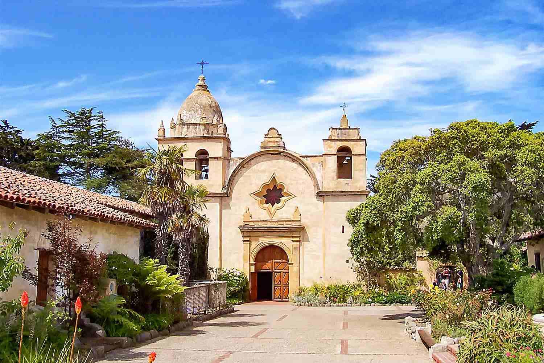 Exterior of Carmel Mission