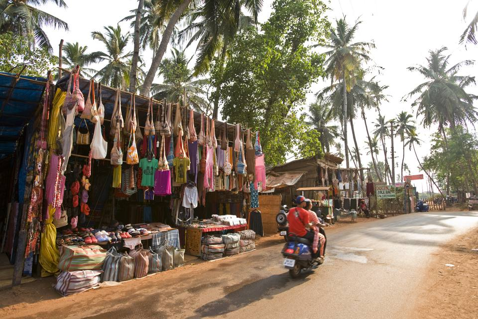 Arambol Beach Street