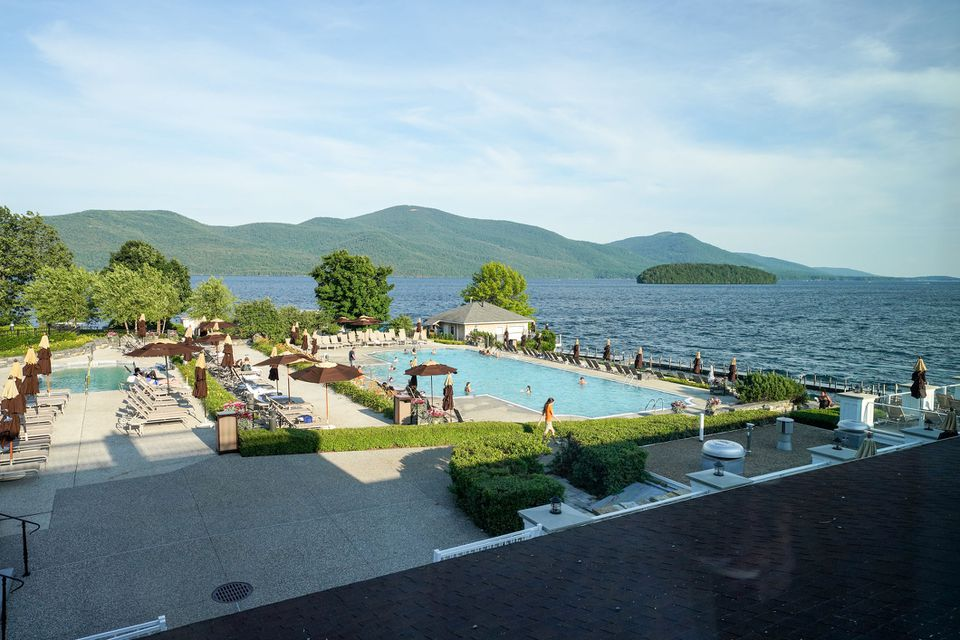 The pool at the Sagamore Hotel