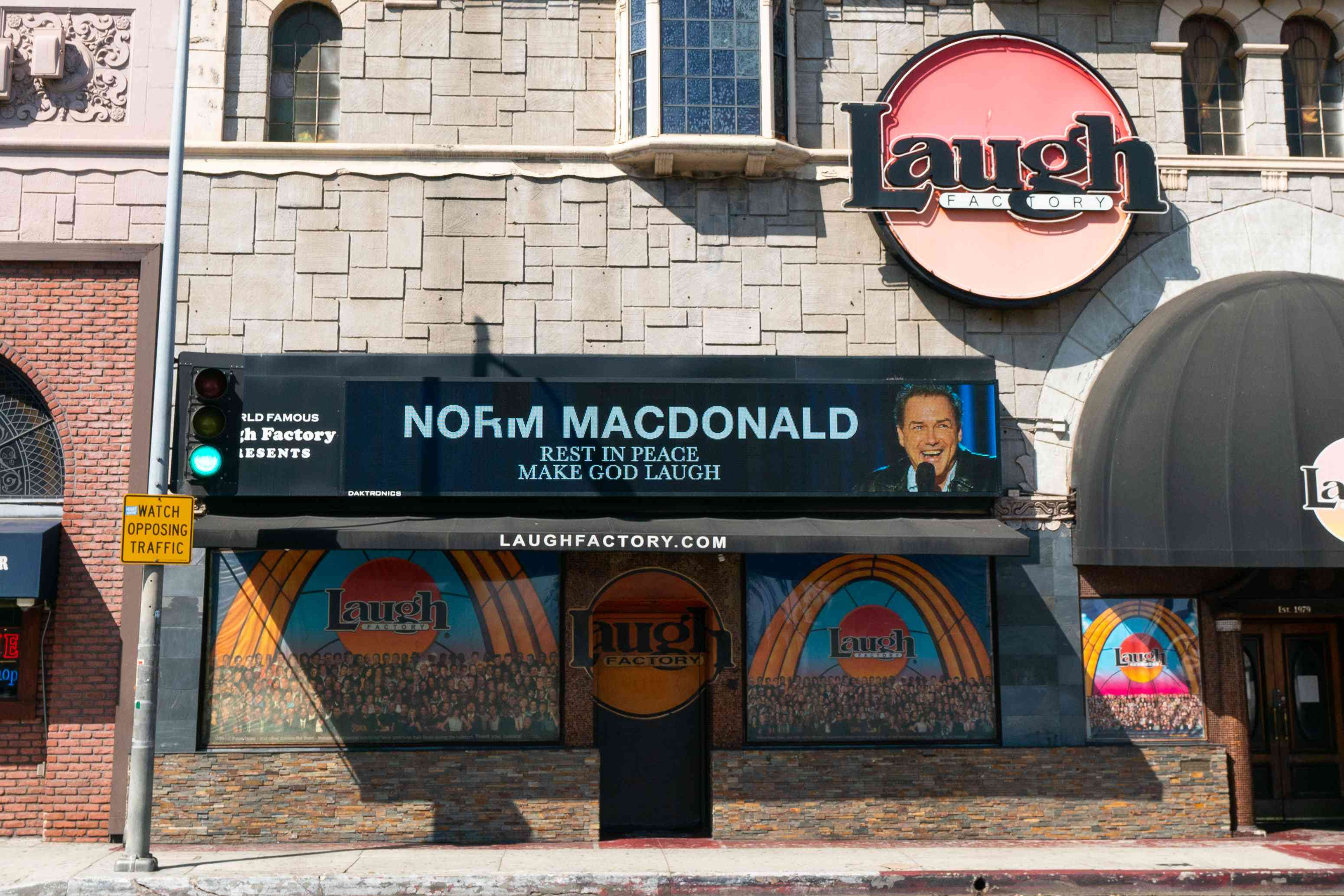 The Laugh Factory in Hollywood