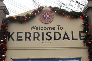 Kerrisdale Village in Vancouver, BC
