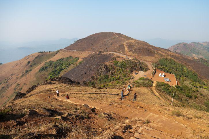 Mulayanagiri hill at Chikmagalur