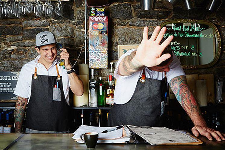 Le Bremner Montreal Restaurant Signed Chuck Hughes