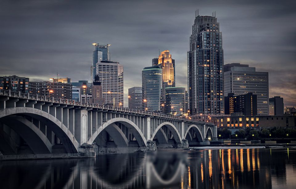 Bridge of Minneapolis/St Paul