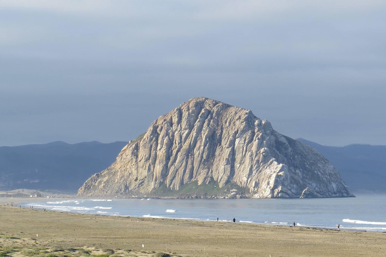 Morro Rock from Morro Bay State Beach
