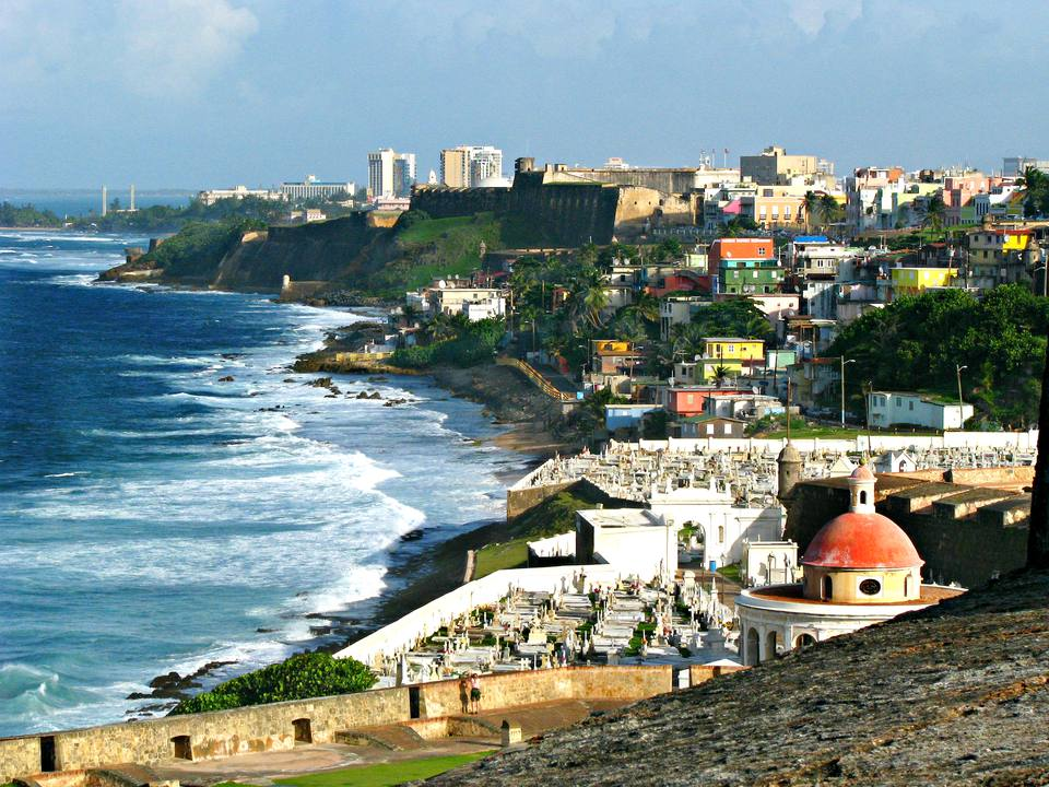 Costa norte de San Juan, Puerto Rico - EE. UU.