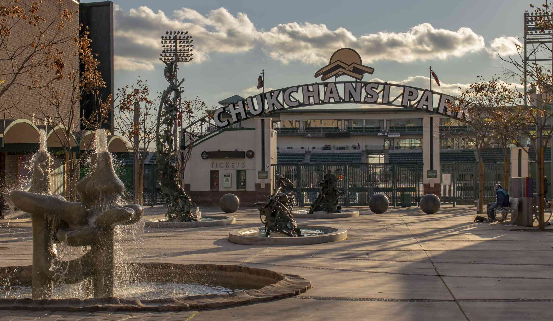 Chukchansi Park baseball stadium in Downtown Fresno