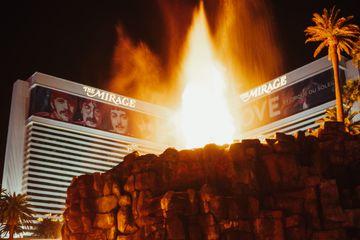 Volcano at the Mirage, Las Vegas, Nevada