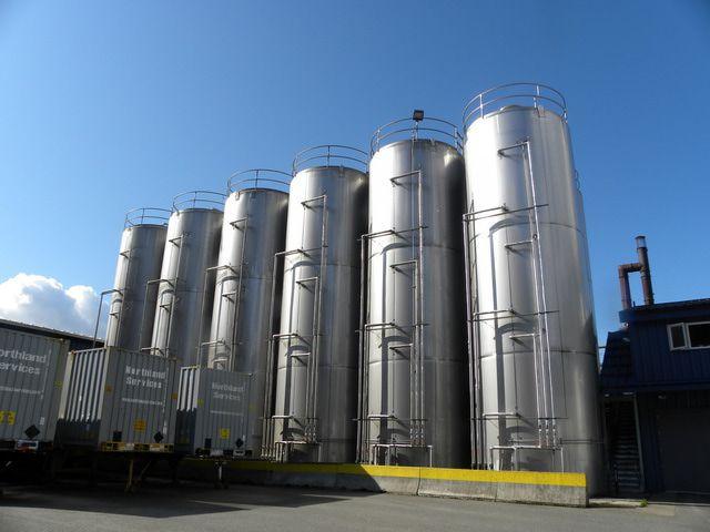 Alaskan Brewing Co. plant in Juneau