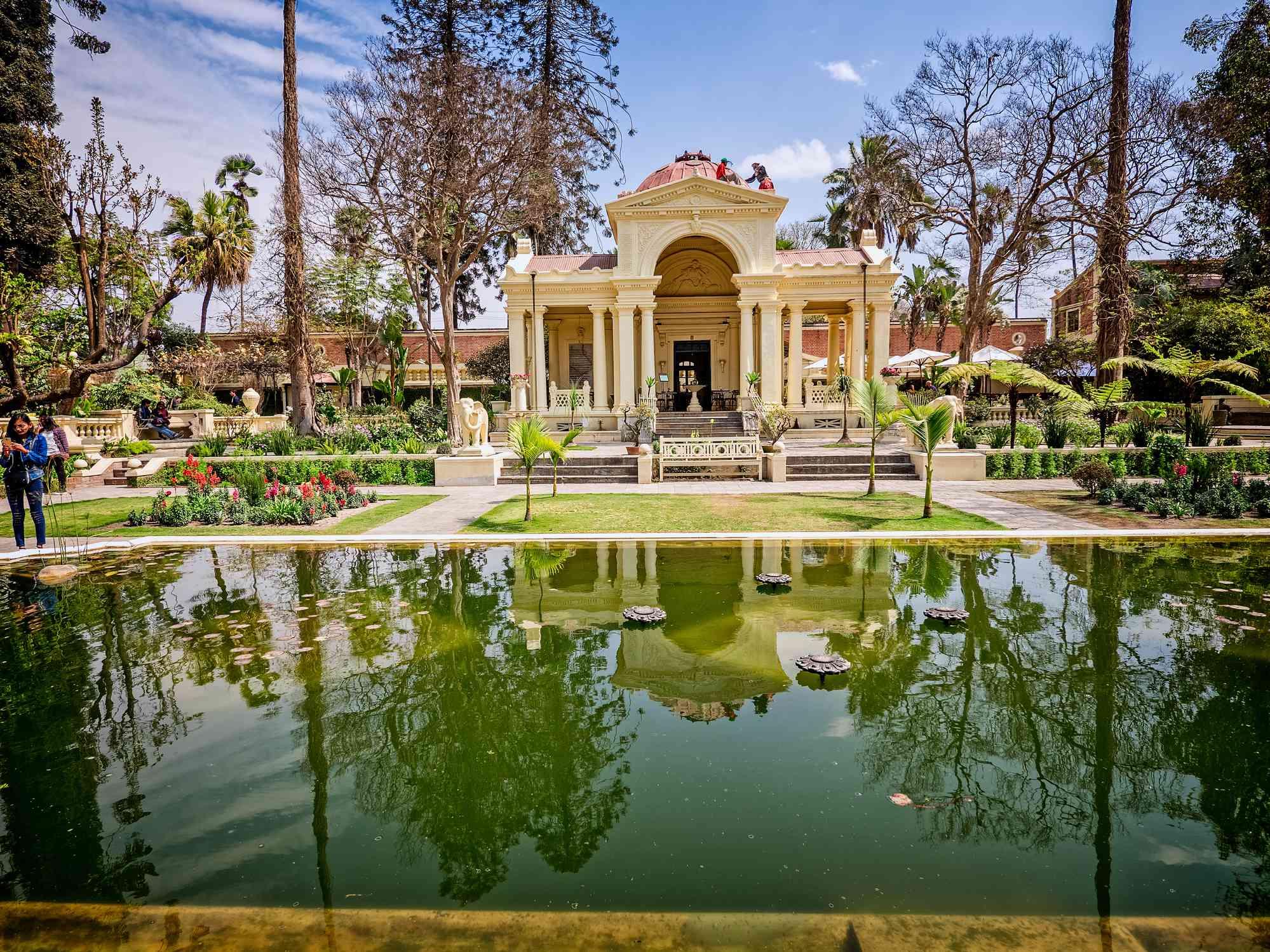 Garden of Dreams, Thamel, Kathmandu, Nepal - March 10, 2017