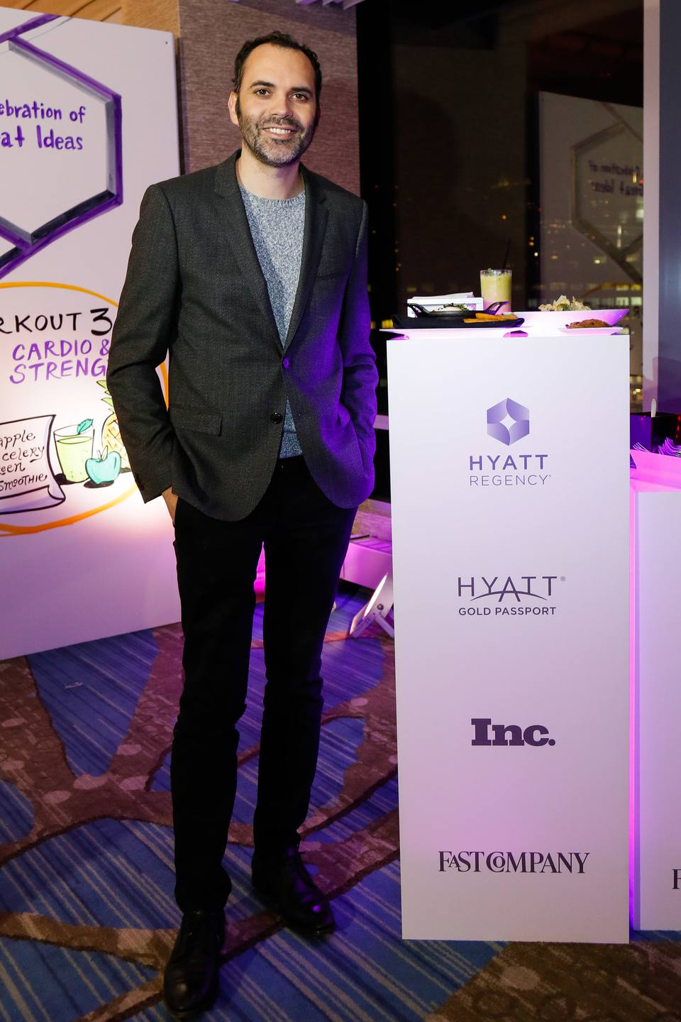Chef and Cronut creator Dominique Ansel at a Hyatt event
