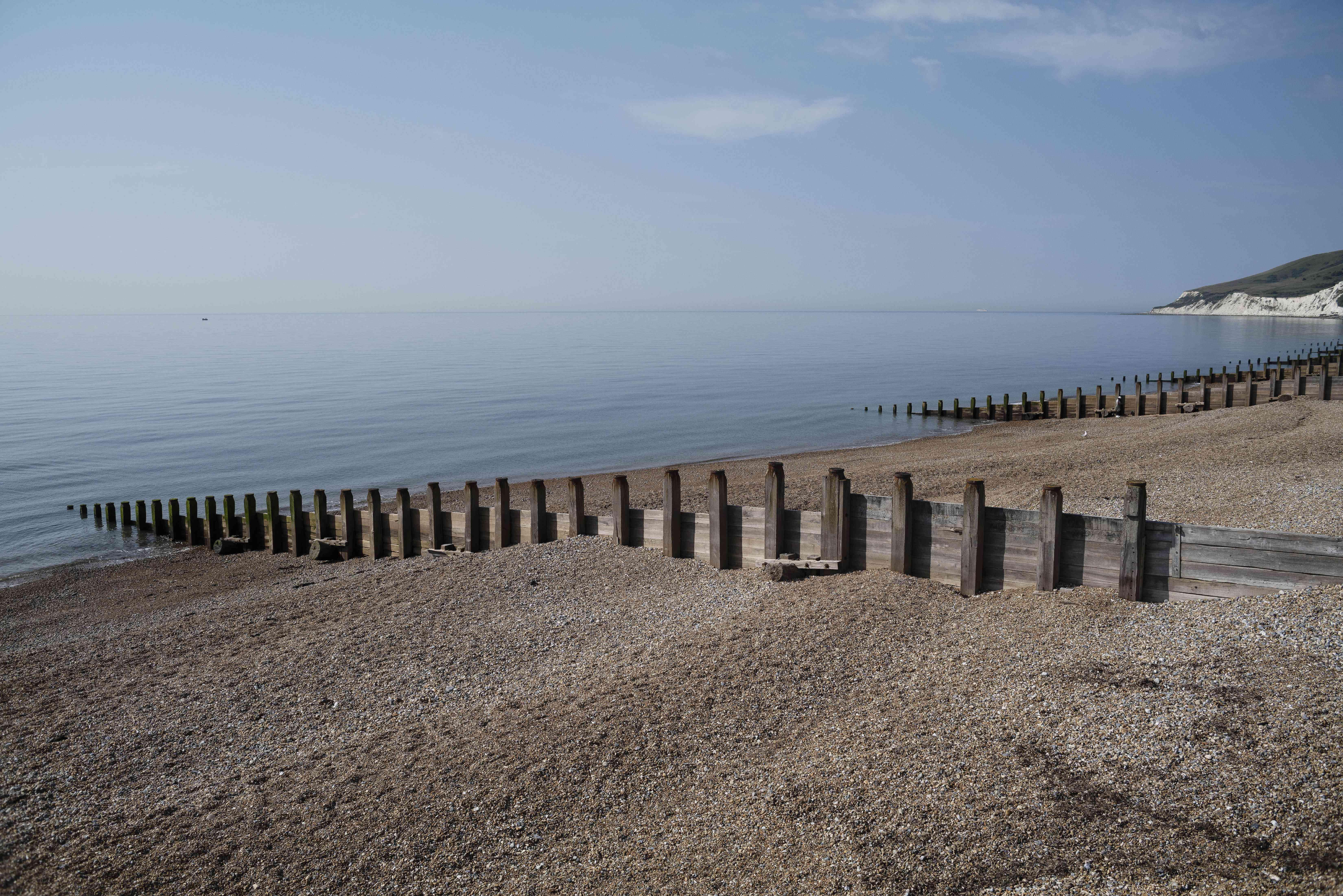 Eastbourne Beach in Eastbourne, England