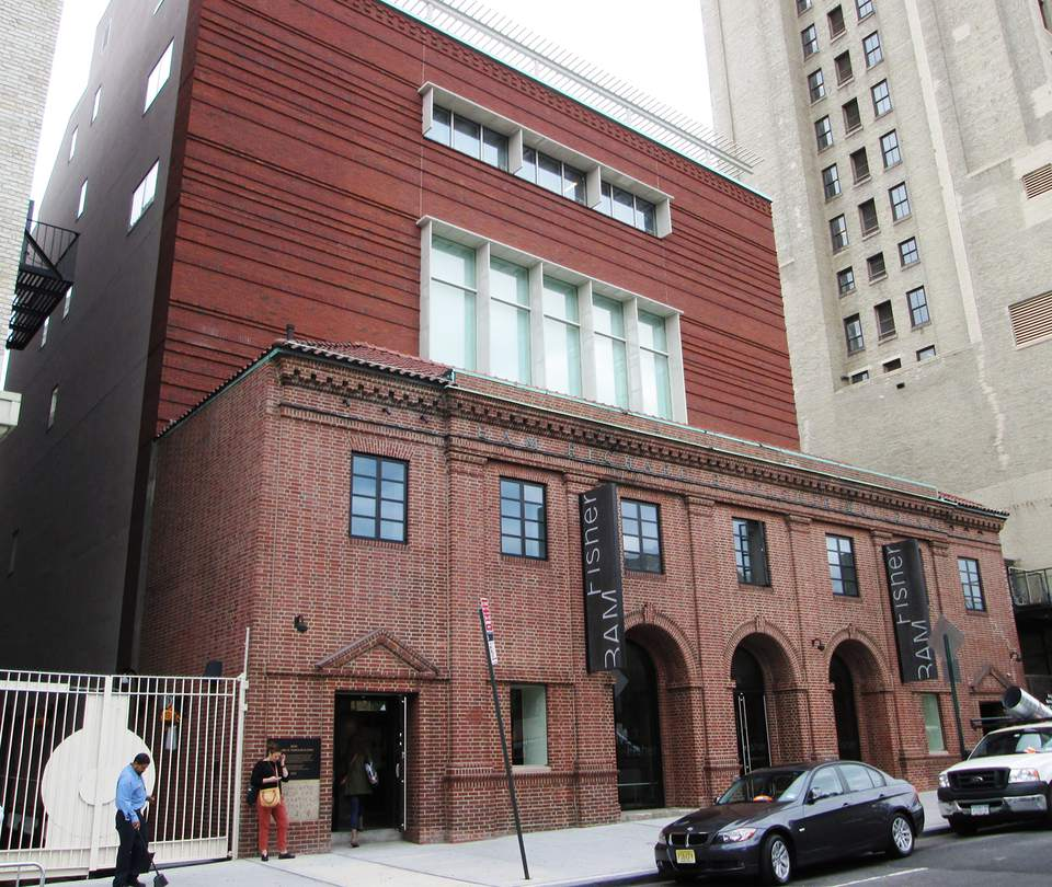 The Brooklyn Academy of Music's Fisher Building at 321 Ashland Place
