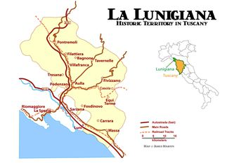 Tuscany Train Map With Towns And Transportation Guide