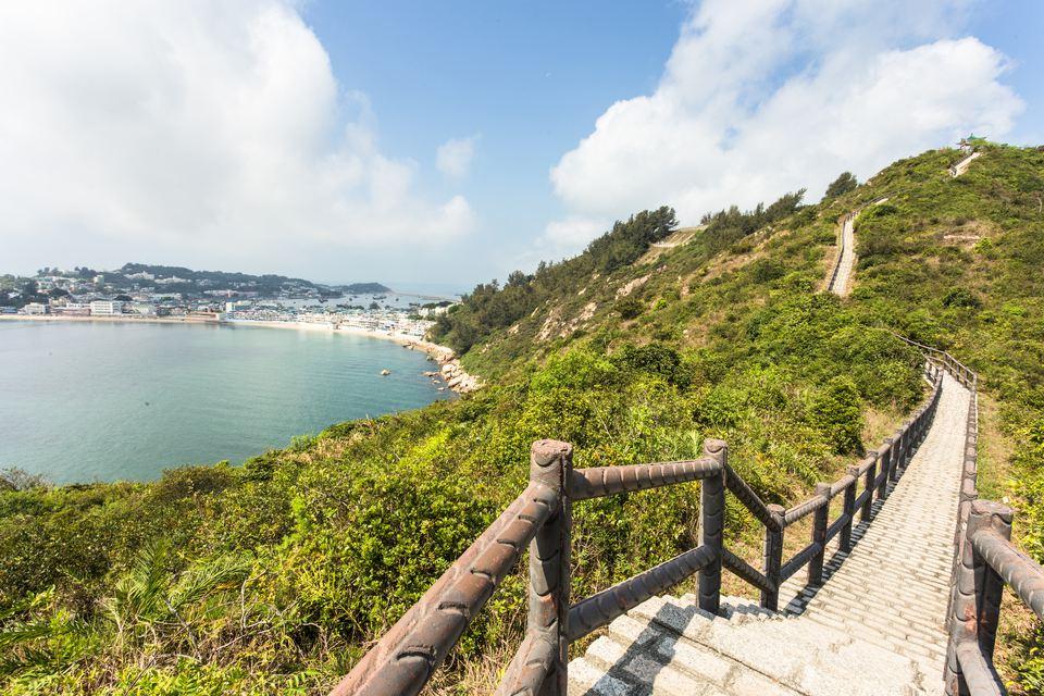 Ruta de senderismo en la isla de Cheung Chau