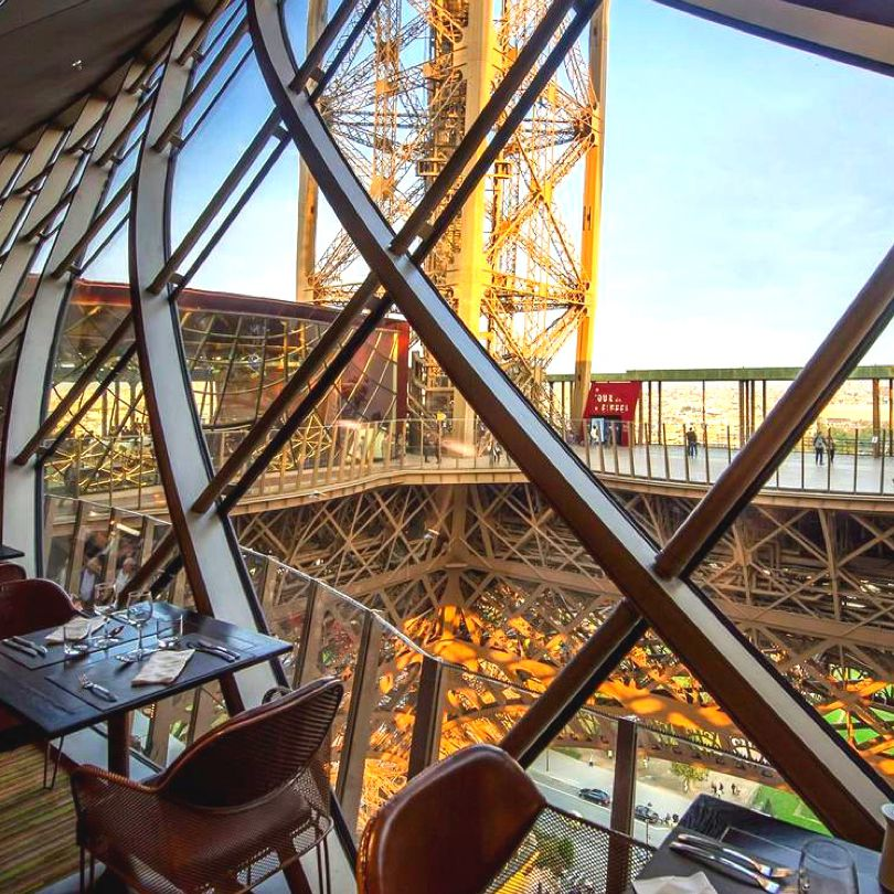 The Best Restaurants at & Nearby the Eiffel Tower
