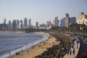 Marine Drive, Mumbai.