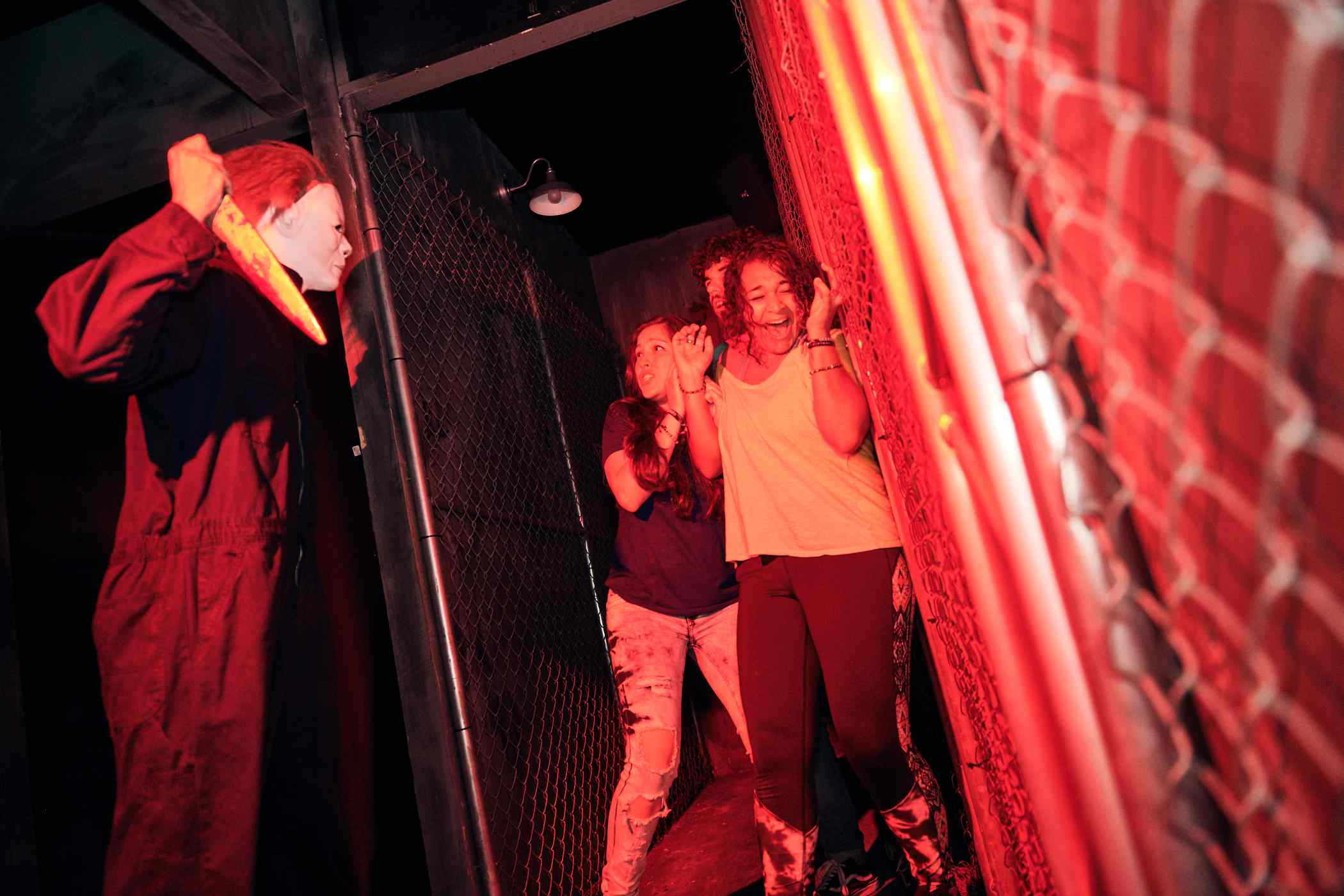 Halloween 4 The Return of Michael Myers house at Universal Halloween Horror Nights
