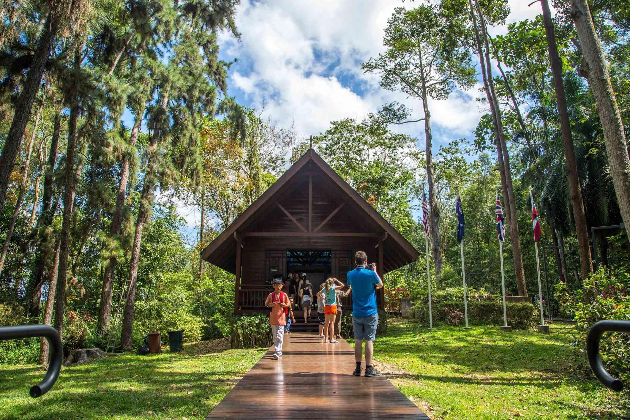 Sandakan Memorial Park, Sabah, Malaysia