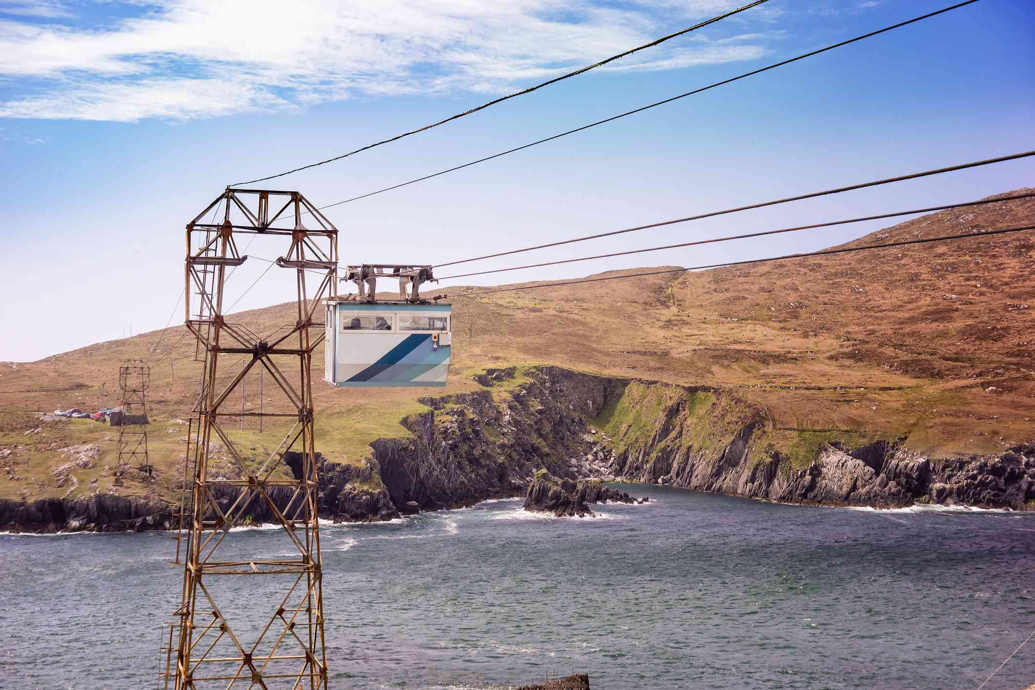 Cable car in Dursey Island
