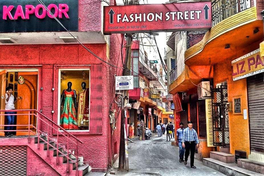 Shahpur Jat street.