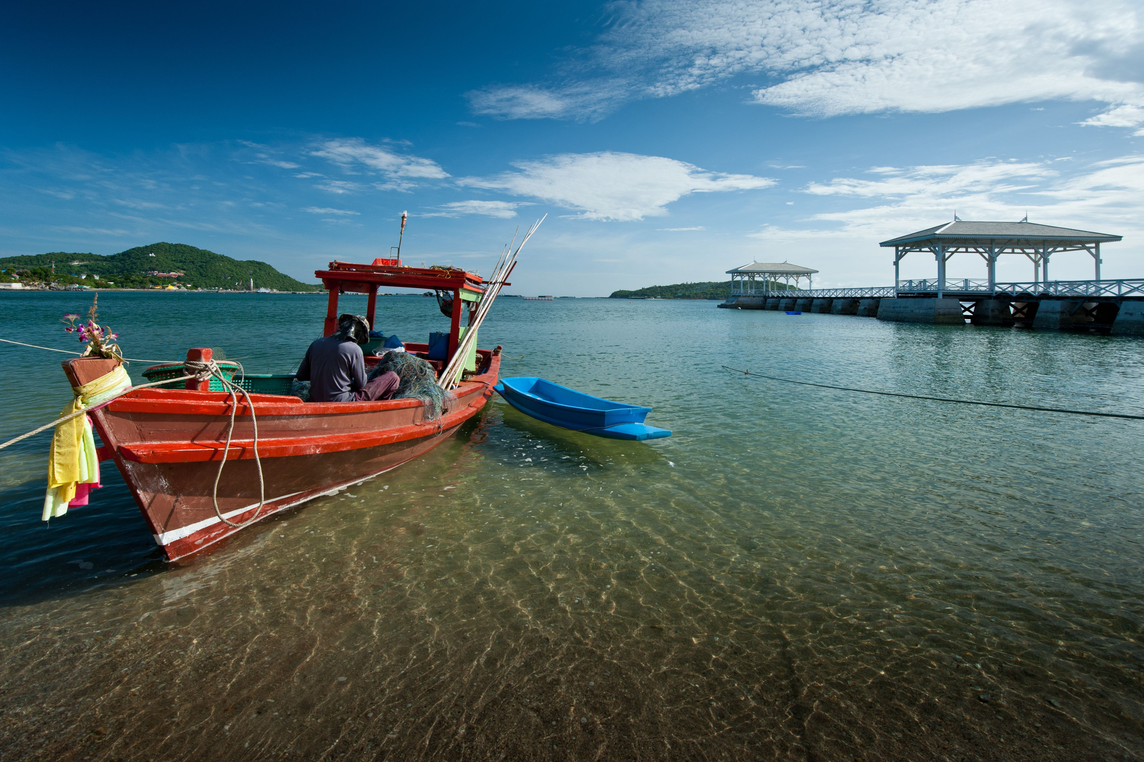 Koh Si Chang Island in Thailand