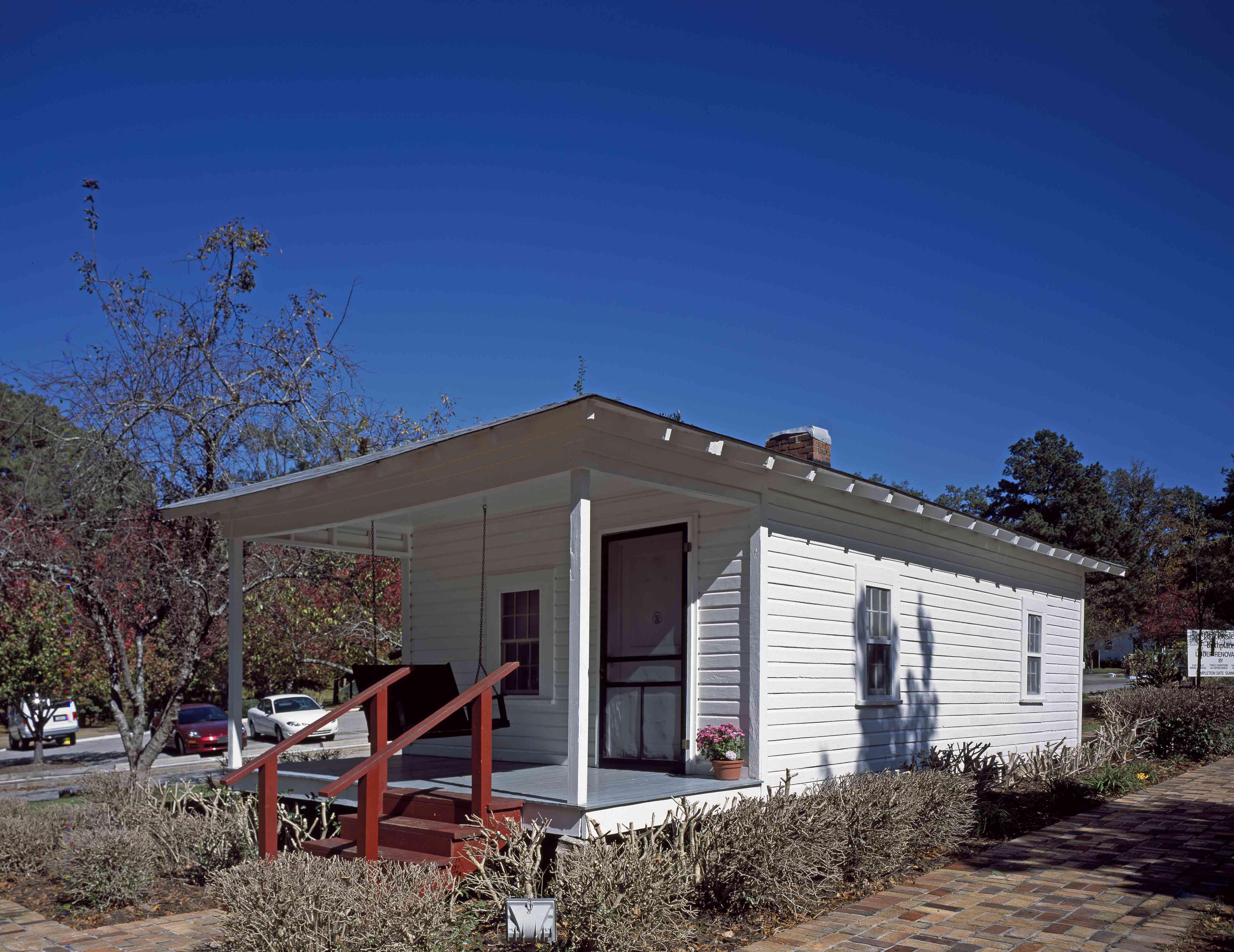 Elvis Presley birth home in Tupelo, Mississippi