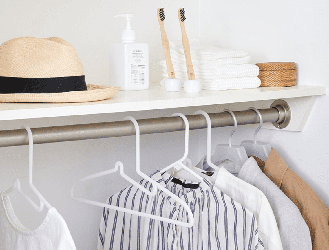 Airbnb Host Essentials by MUJI closet